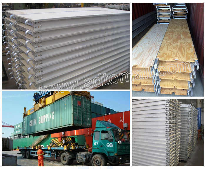 American frame packaging shipping scaffold plywood plank