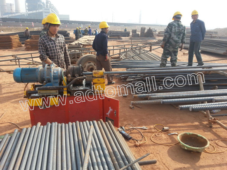 upsetting forging machine application