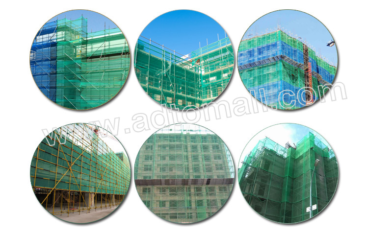 high quality plastic safety net applications