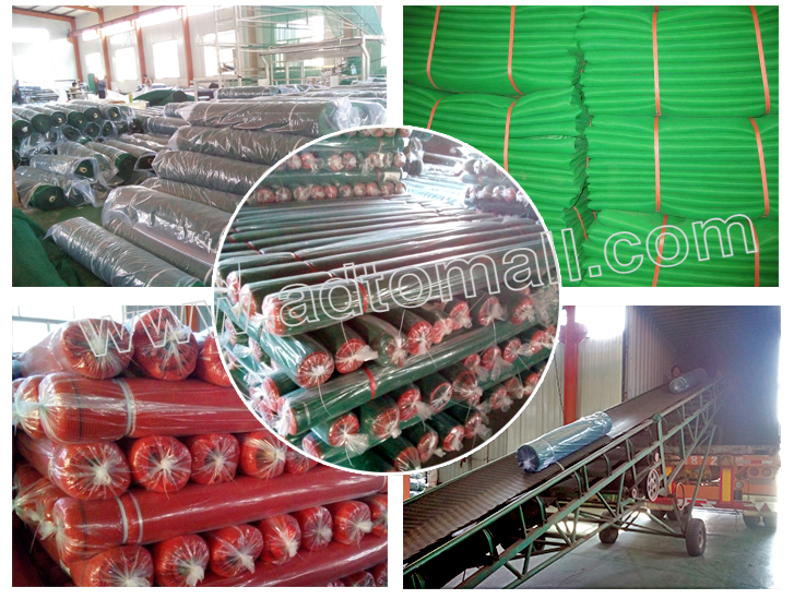 construction net packaging and shipping