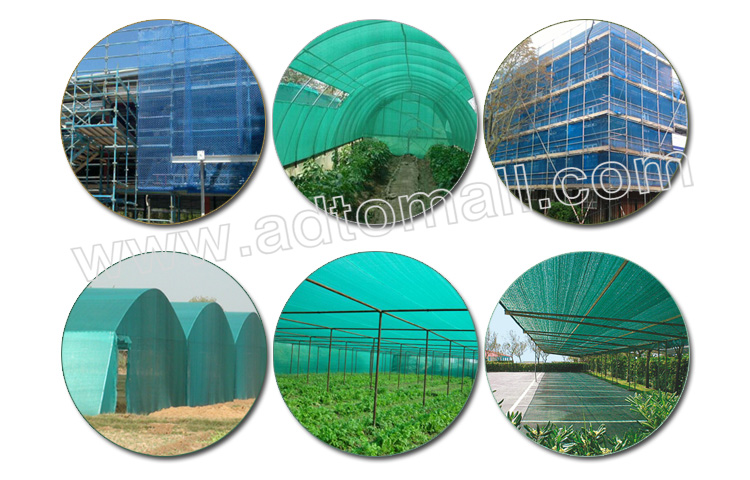 shade netting applications
