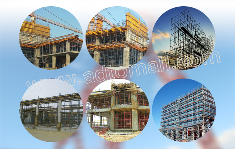 Hot dipped galvanized cuplock scaffolding applications