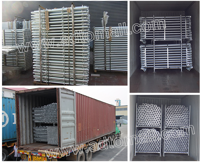 ringlock scaffolding packaging shipping