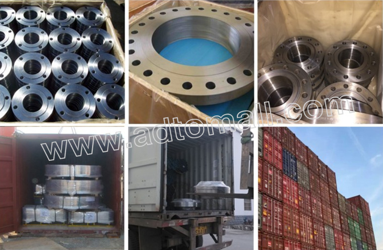 pipe fittings and flanges packaging and shipping