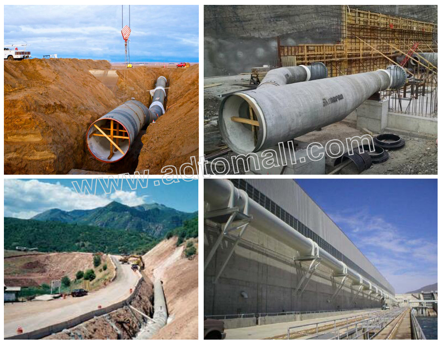 welded pipe applications
