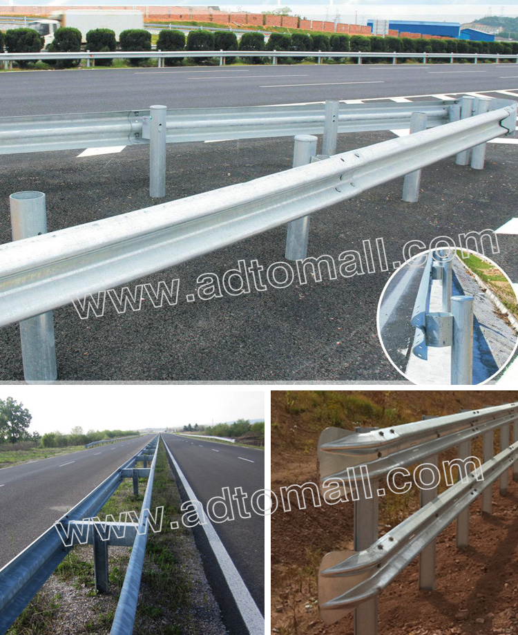 highway guardrail applications