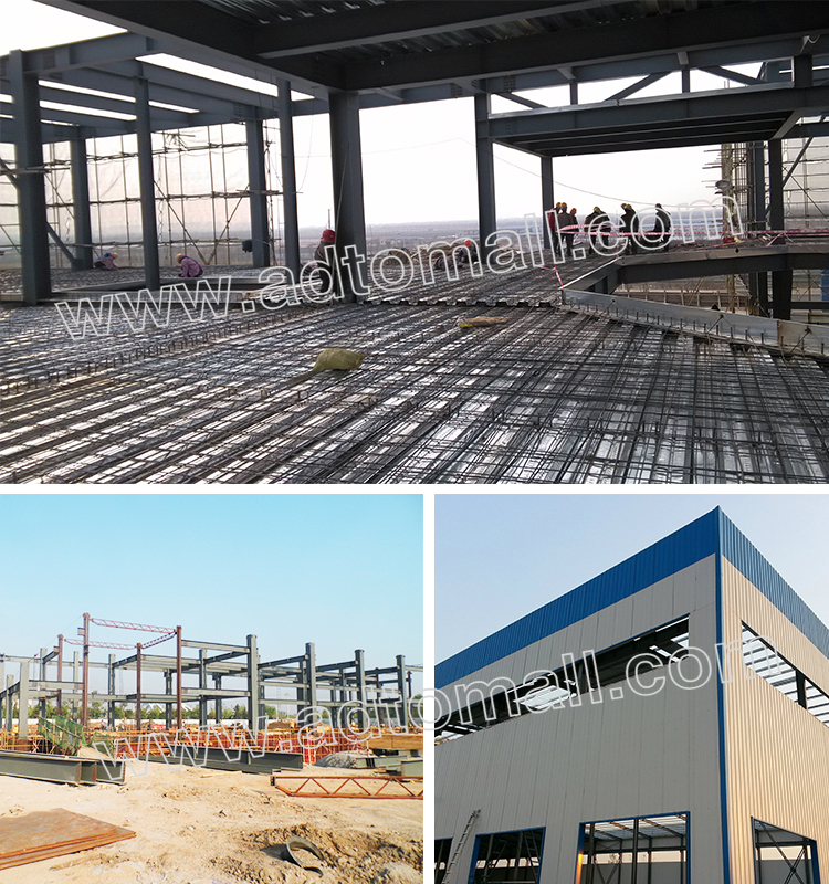steel structure applications