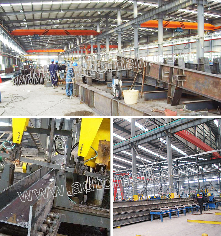 steel structure product process
