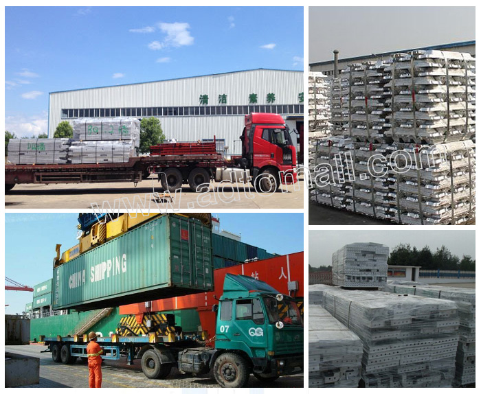 Aluminium-Formwork packaging and shipping