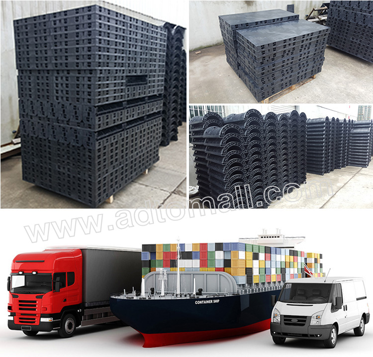 plastic formwork packaging and shipping