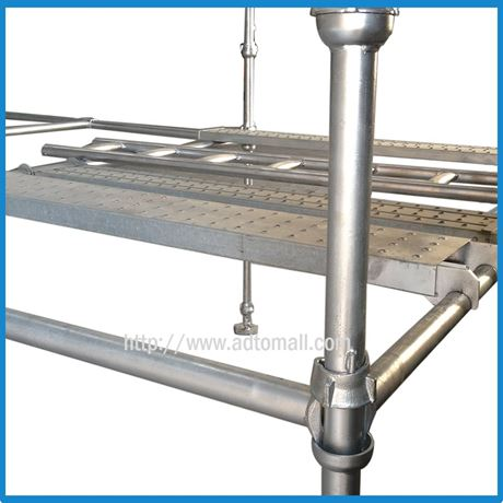 Picture of Galvanized Drop Forged Cuplock Scaffolding