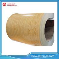 Picture of Wood Grain PPGI Coil Sheet