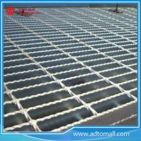 Picture of Glavanized Serrated Steel Grating