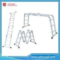 Picture of Aluminum Lightweight Multipurpose Ladder