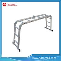 Picture of 4x3 Multi Function Extend Aluminum Ladder