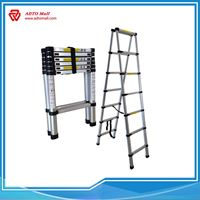 Picture of EN131 3.2-5.0M Dual Side Telescopic Ladder