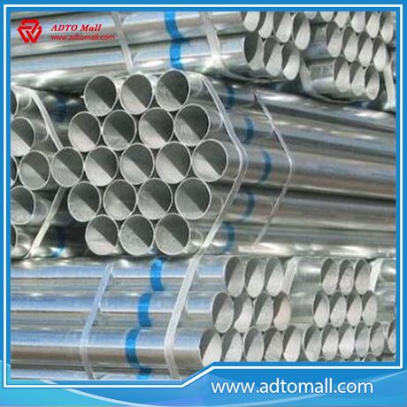 """Picture of BS1387 Gr.B 4""""x4.5mmx6m Hot Dipped Galvanized Pipe"""