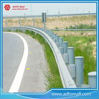Picture of Two Wave Cold Rolled Highway Guardrail