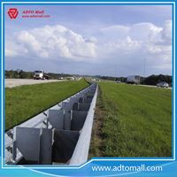 Picture of AASHTO M180 Zinc Coated Road Steel Traffic Barrier