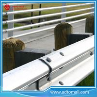 Picture of Galvanized W Beam Road Safety Guardrail