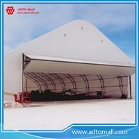 Picture of Steel Frame Prefab Aircraft Hangar
