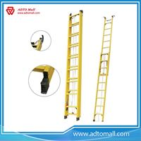 Picture of Rope Extension Fiberglass Ladder