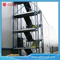 Picture of Galvanized Metal Outdoor Stairs