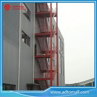 Picture of Outdoor Exterior Structural Steel Stairs