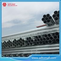 """Picture of BS1387 Gr.A 2 1/2""""x3.2mmx6m Hot Dipped Galvanized Pipe"""