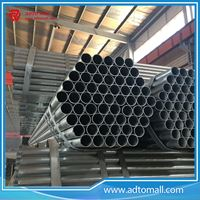 Picture of 33.4mmx2mmx6m Pre Galvanized Round Tube