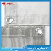 Picture of 160g PVC Fireproof Mesh Sheet Scaffolding Safety