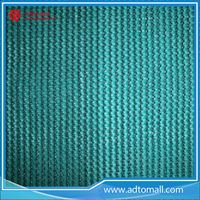 Picture of Green Add Black Scaffold Safety Net with HDPE Material